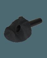EPDM hemelwaterafvoer 90mm - 45 graden uitloop